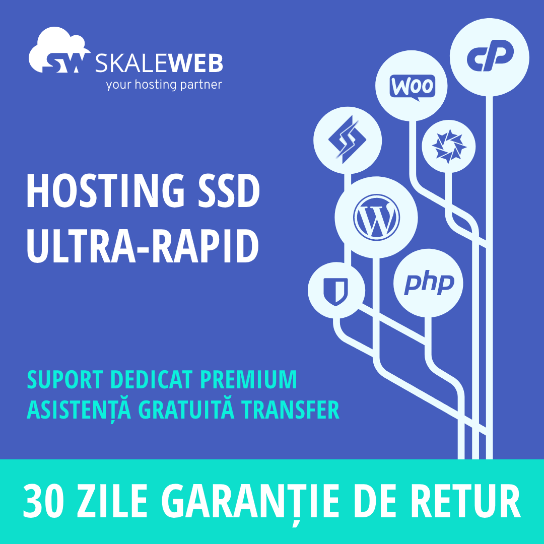 Reducere 20% la pachetele noi de hosting